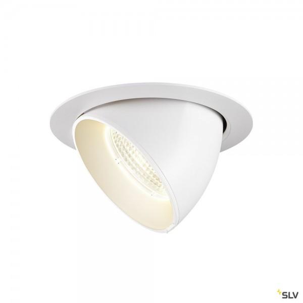 SLV 1002889 Gimble In 150, Deckeneinbauleuchte, weiß, LED, 25,5W, 4000K, 2490lm