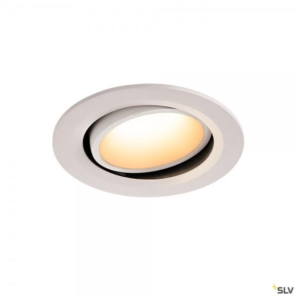 SLV 1003662 Numinos Move L, Deckeneinbauleuchte, weiß, LED, 25,41W, 3000K, 2300lm, 20°