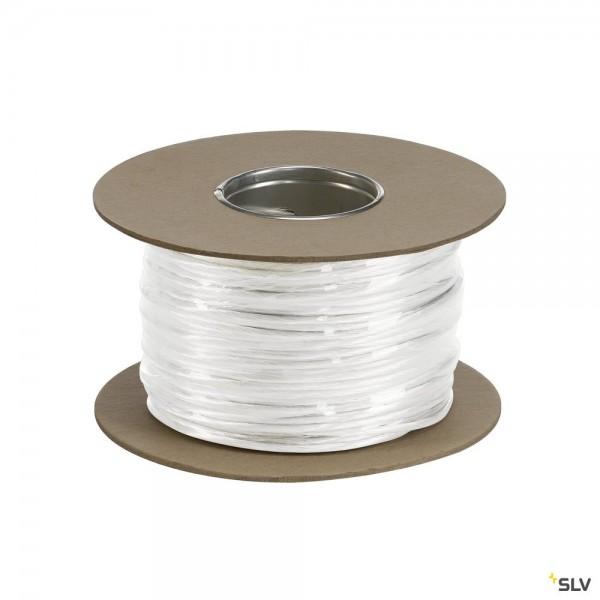 SLV 139041 Niedervoltseil 100m/4mm², weiß, Seilsystem