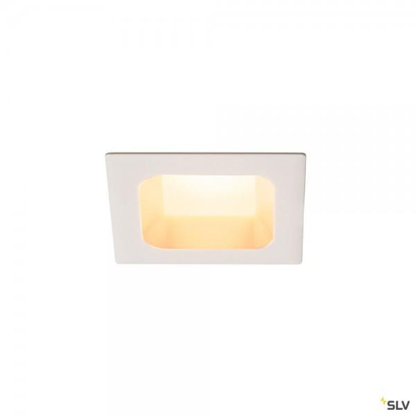 SLV 112682 Verlux, Deckeneinbauleuchte, weiß matt, dimmbar C, LED, 12W, 3000K, 880lm