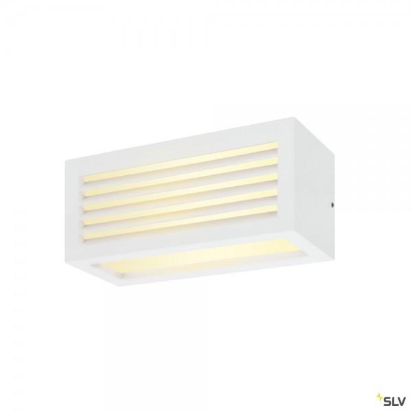 SLV 1002037 Box-L, Wandleuchte, weiß, up&down, IP44, LED, 19W, 3000K, 480lm