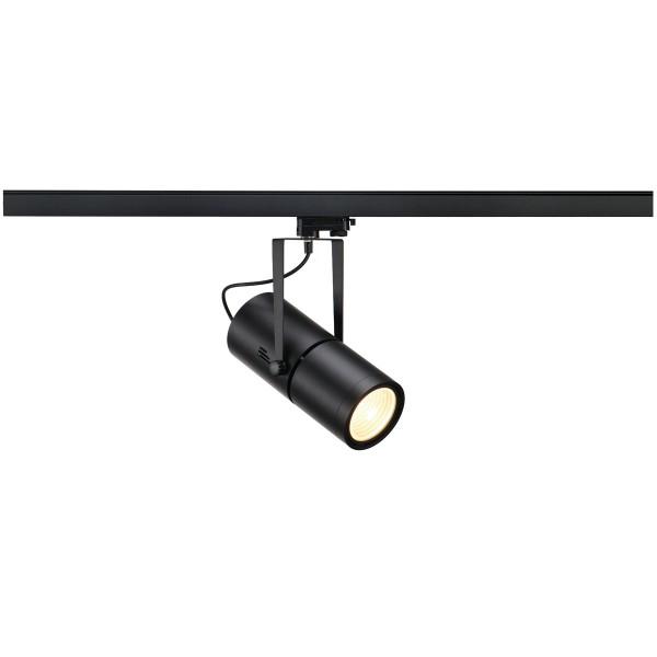 SLV 153880 Euro Spot, 3Phasen, Strahler, schwarz, G12, max.70W, 15°