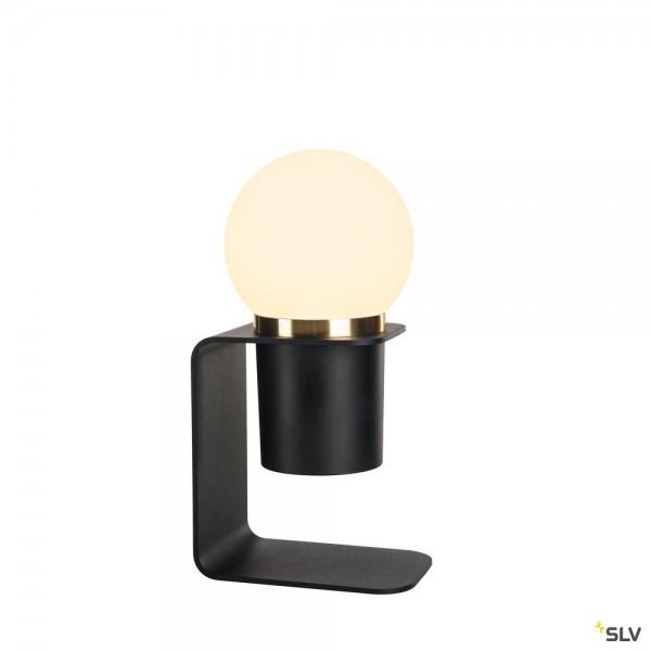 SLV 1002583 Tonila, mobile Akkuleuchte, schwarz, 3 Stufen dimmbar, LED, 1,6W, 1,8W, 2700K, 90lm