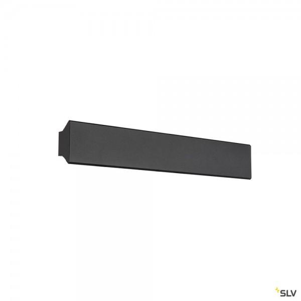 SLV 1004740 Direto 60, Wandleuchte, schwarz, dimmbar C, LED, 14W, 2700/3000K, 1250lm