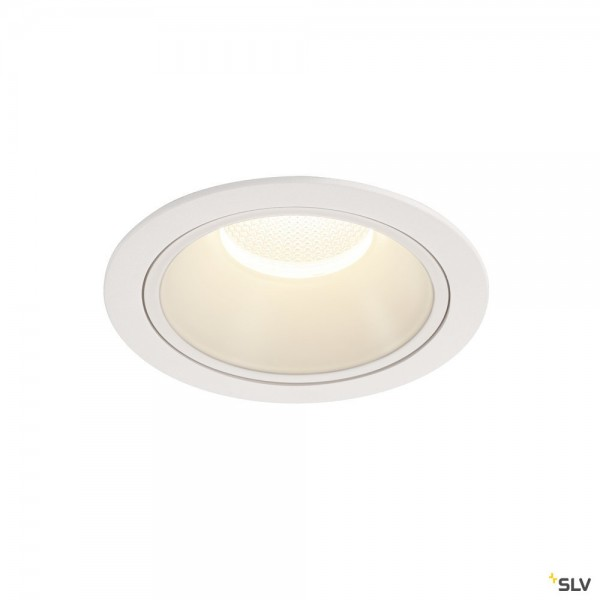SLV 1004046 Numinos XL, Deckeneinbauleuchte, weiß, LED, 37,4W, 4000K, 3800lm, 20°