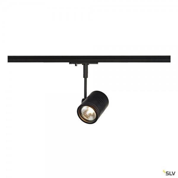 SLV 143440 Bima 1, 1Phasen, Strahler, schwarz matt, QPAR51, GU10, max.50W