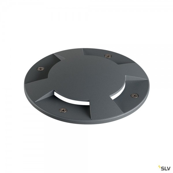 SLV 1001263 Big Plot, Aluminiumabdeckung, 4er, anthrazit