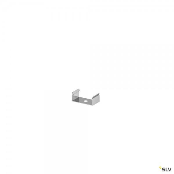 SLV 1000488 Grazia 10, Montageclip, Edelstahl, sichtbar, 2 Stück