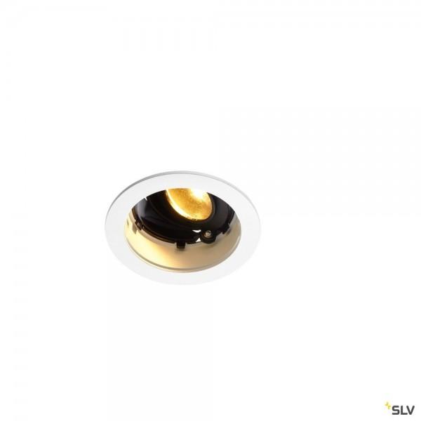 SLV 1001847 Renisto, Deckeneinbauleuchte, weiß, dimmbar L, LED, 9,6W, 3000K, 500lm