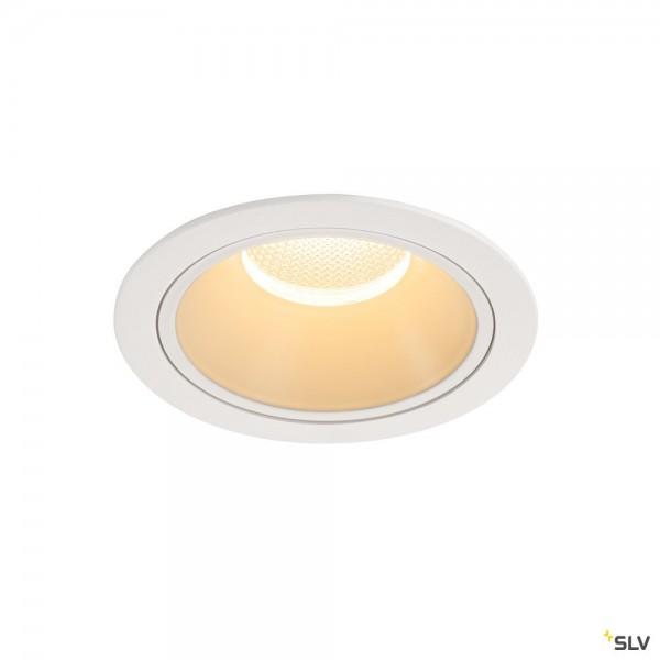 SLV 1004025 Numinos XL, Deckeneinbauleuchte, weiß, LED, 37,4W, 3000K, 3550lm, 40°