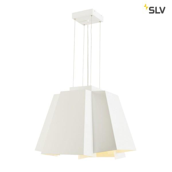 SLV 165451 Soberbia 53, Pendelleuchte, weiß, dimmbar Triac C+L, LED, 10W, 2700K, 1300lm