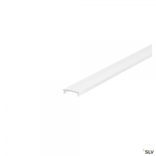 SLV 1001813 H-Profil, Abdeckung, 200cm, PC, weiß