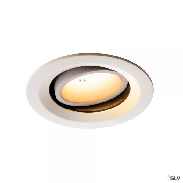 SLV 1003569 Numinos Move M, Deckeneinbauleuchte, weiß, LED, 17,55W, 2700K, 1600lm, 40°
