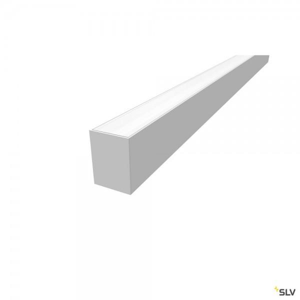 SLV 1004897 Grazia 60, Aufbauprofil, weiß, B/H/L 7x9,5x150cm, LED Strips max.B.2cm