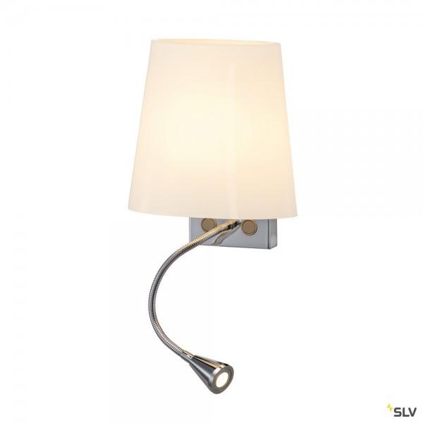 SLV 149452 Coupa Flex, Wandleuchte, mit Schalter, G9+ LED, max.40W, 3000K, 125lm