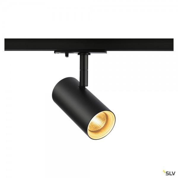 SLV 1001862 Noblo, 1Phasen, Strahler, schwarz, LED, 7,5W, 2700K, 620lm