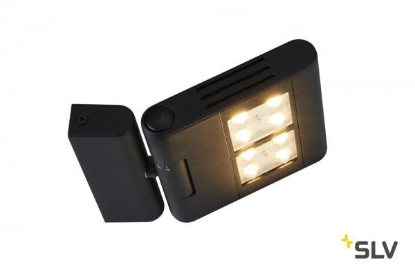 SLV 1002920 Lenito, Wandleuchte, schwarz, LED, 24W, 3000K, 2450lm