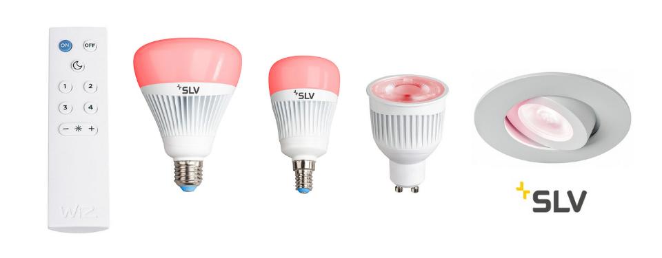 Lichtsteuerung-SLV-Play-Leuchtmittel-GU10-RGBW