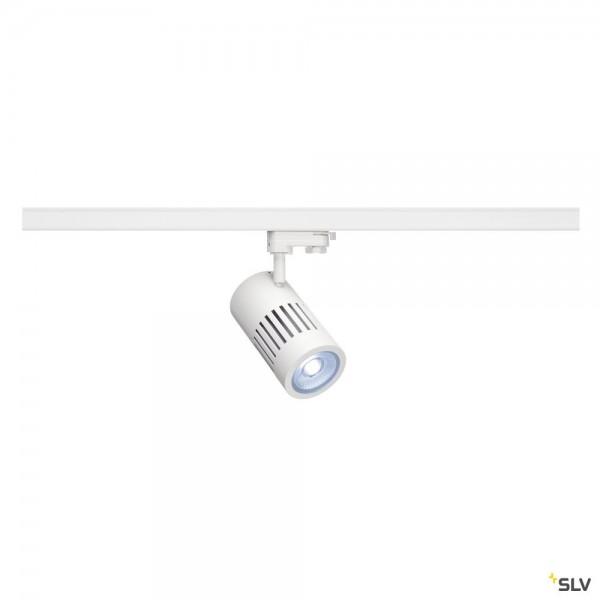 SLV 1000999 Structec, 3Phasen, Strahler, weiß, LED, 35W, 4000K, 3450lm, 36°