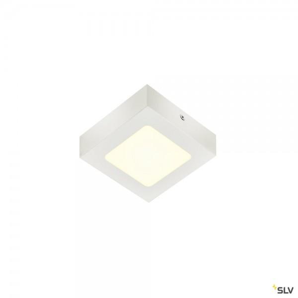 SLV 1004703 Senser 12, Wand- und Deckenleuchte, weiß, dimmbar C, LED, 8,2W, 4000K, 440lm