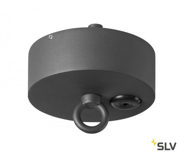 SLV 1000398 Deckenrosette, Photonia, anthrazit