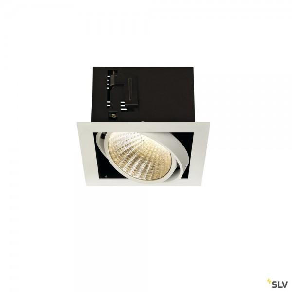 SLV 115731 Kadux 1 Set, Einbauleuchte, weiß matt, dimmbar 1-10V, LED, 29W, 3000K, 2500lm