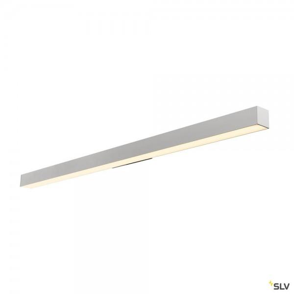 SLV 1000670 Q-Line Wall, Wandleuchte, silbergrau, LED, 45W, 3000K, 3800lm
