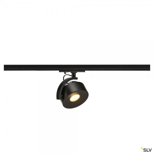 SLV 1002854 Kalu Track, 1 Phasen, Strahler, schwarz, dimmbar Triac C, LED, 13W, 3000K, 860lm