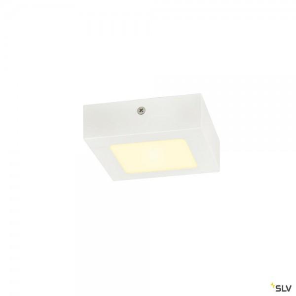 SLV 1003017 Senser 12, Wand- und Deckenleuchte, weiß, dimmbar Triac C, LED, 8,2W, 3000K, 480lm