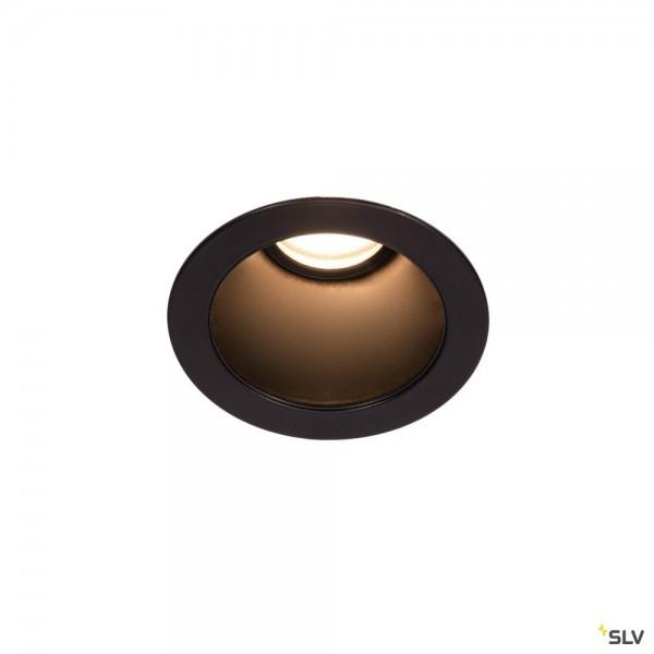 SLV 1002592 Horn Magna, Deckeneinbauleuchte, schwarz, LED, 7,7W, 3000K, 415lm