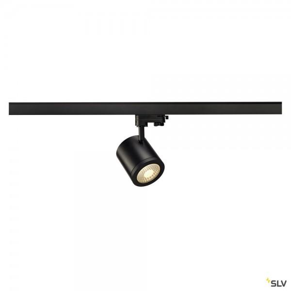 SLV 152430 Enola_C, 3Phasen, Strahler, schwarz, LED, 12W, 3000K, 900lm, 55°