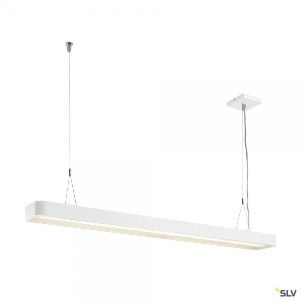 SLV 1003525 Worklight, Pendelleuchte, weiß, dimmbar Dali, LED, 49W, 4000K, 5500lm