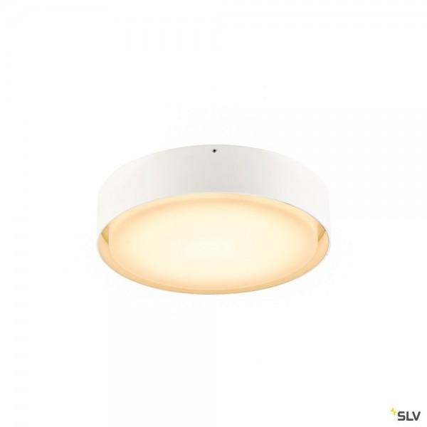 SLV 1001855 Lipa, Wand- und Deckenleuchte, weiß, IP54, LED, 24W, 3000K/4000K, 1600lm