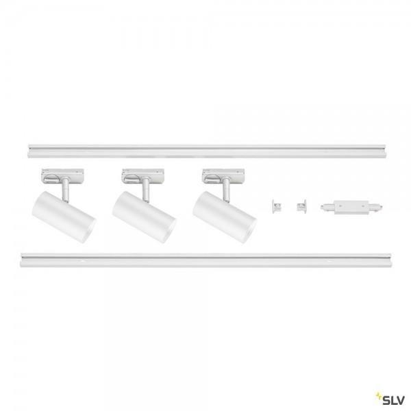 SLV 1002611 Noblo Set, 1Phasen, Strahler, weiß, LED, 22,5W, 2700K, 1860lm