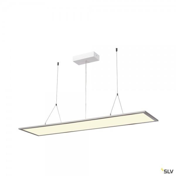SLV 1003051 I-Pendant Pro, Pendelleuchte, grau, dimmbar Dali, LED, 42W, 4000K, 3800lm