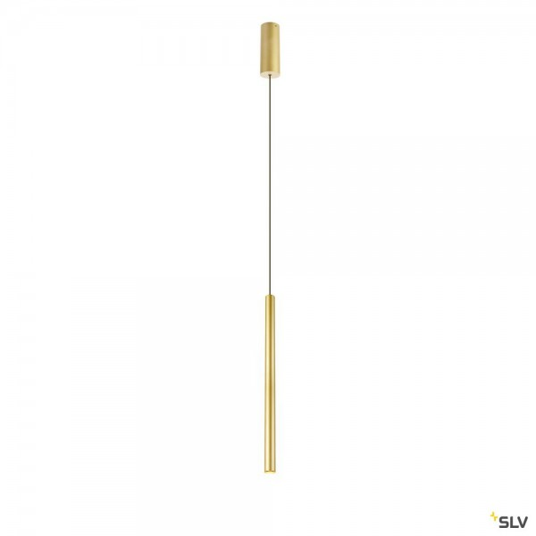 SLV 1002172 Helia 30, Pendelleuchte, gold, dimmbar Triac C+L, LED, 10W, 3000K, 550lm
