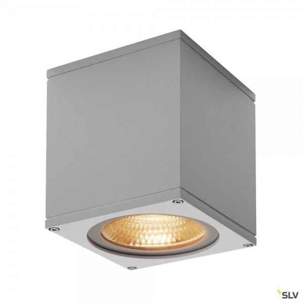 SLV 234534 Big Theo Ceiling, Deckenleuchte, silbergrau, IP44, LED, 21W, 3000K, 2000lm