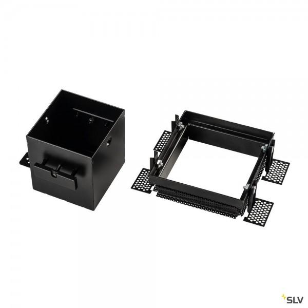 SLV 115351 Einbaurahmen 1 Frameless, schwarz, Aixlight Pro®