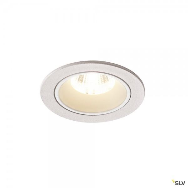 SLV 1003833 Numinos S, Deckeneinbauleuchte, weiß, LED, 8,6W, 4000K, 790lm, 40°