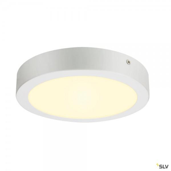 SLV 1003016 Senser 24 Wand- und Deckenleuchte, weiß, dimmbar Triac C, LED, 15W, 3000K, 1200lm