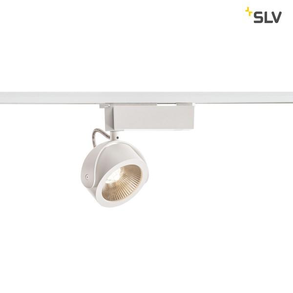 SLV 1000766 Kalu, 1 Phasen, Strahler, weiß/schwarz, dimmbar Triac C, LED, 17W, 3000K, 1000lm, 24°