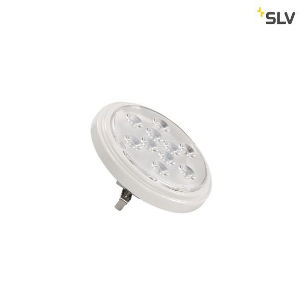 SLV 560634 Leuchtmittel, weiß, G53, LED, 10W, 4000K, 800lm, 13°