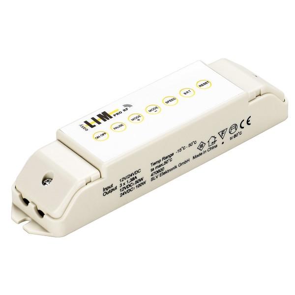 SLV 470600 Easy Lim Pro®, Mastersteuerung, 3 Kanal, 33W