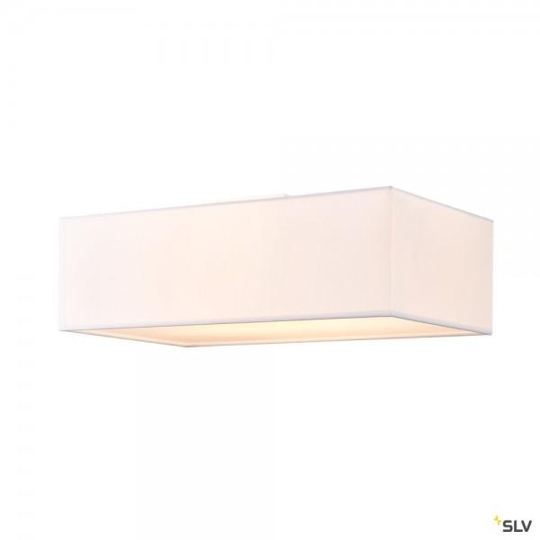 SLV 1002945 Accanto Square, Deckenleuchte, weiß, E27, max.2x40W