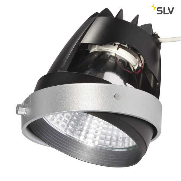 SLV 115231 COB LED Modul, Aixlight® Pro, silbergrau/schwarz, 26W, 4200K, 1950lm, 12°