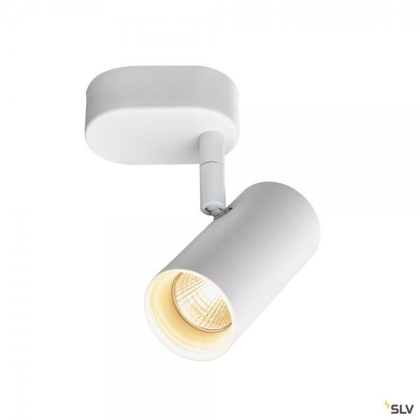 SLV 1002970 Noblo I, Strahler, weiß, dimmbar Triac C+L, LED, 8W, 2700K, 600lm