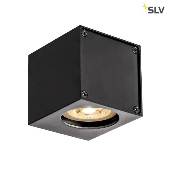 SLV 1002212 Altra Dice WL-1, Wandleuchte, schwarz, QPAR51, GU10, max.35W