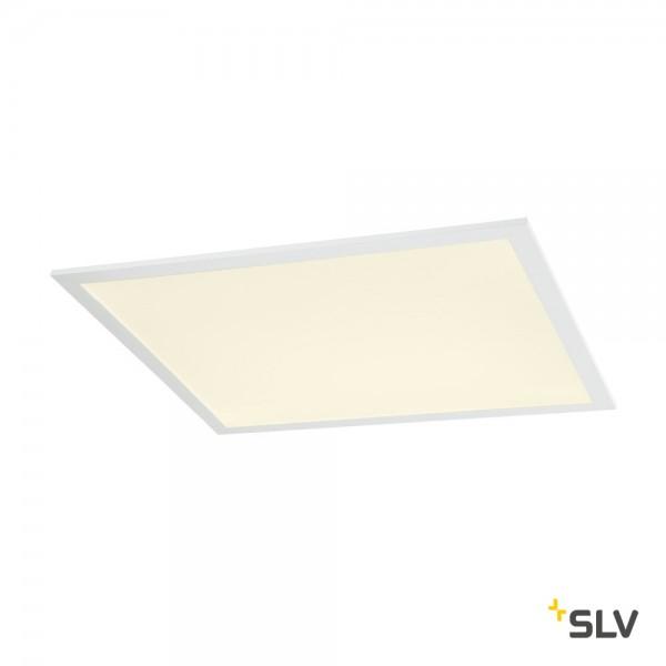 SLV 1003073 LED Panel, Deckeneinbauleuchte, weiß, 61,7x61,7cm, LED, 35W, 3000K, 4000lm