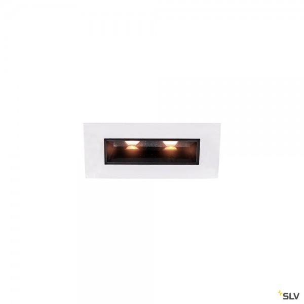 SLV 1002104 Milando, Deckeneinbauleuchte, schwarz/weiß, LED, 4,28W, 3000K, 280lm