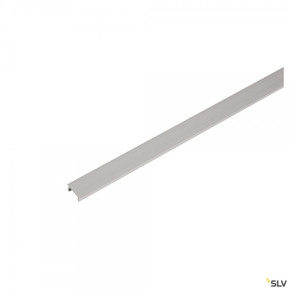 SLV 1004784 1 Phasen, Aufbauschiene, Abdeckung, 200cm, silbergrau